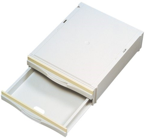 PASLADE A6851-201 2LADEN LICHTGRIJS 1 STUK