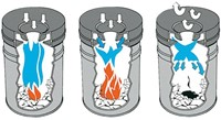 PAPIERBAK+VLAMDOVER VEPABINS 15LITER R 25.5CM GRIJS 1 STUK-2