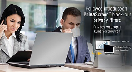 PRIVAT SCREEN FELLOWES 19 INCH STUKS